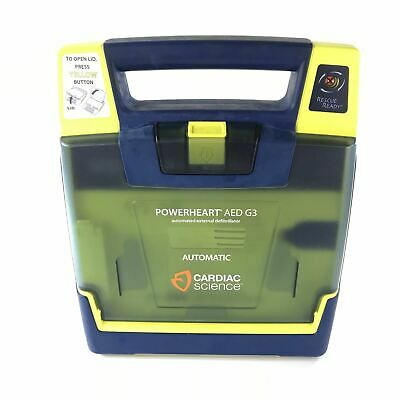 Cardiac Science Powerheart AED G3 9390A-01 NO PADS