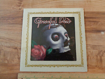 """VINTAGE Carnival - Fair Glass Mirror Prize GRATEFUL DEAD 6"""" by 6"""" in Frame"""