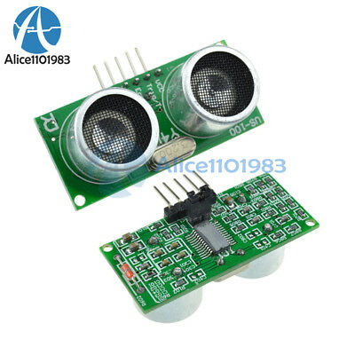 2PCS US-100 ultrasonic Sensor Module Temperature Compensation Distance Measuring
