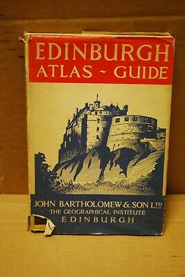 Edinburgh Atlas-Guide from 1955. 30 pages.