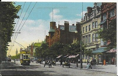 Lovely Rare Vintage Postcard,animated,lord Street And Tram ,lancashire