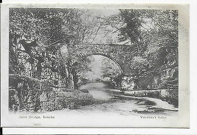 Lovely Rare Vintage Postcard,dairy Bridge,rokerby,yorkshire