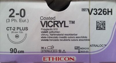 Vicryl Ethicon Nahtmaterial Polyglactin PGA OP Chirurgie suture sutura surgery