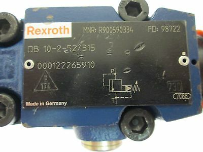 Rexroth DB 10-2-52/315 Presure Relief Valve Pilot Operated