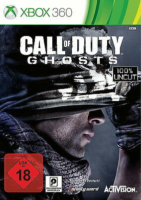 Call of Duty: Ghosts (Microsoft Xbox 360, 2013, DVD-Box)