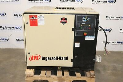 Ingersoll Rand UP6-30-125 30 HP 125 PSI Rotary Screw Air Compressor