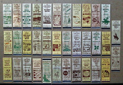35 diff 'WOODIES' , WOODGRAIN STOCK CUTS, IMAGES UNSTRUCK MATCHCOVERS