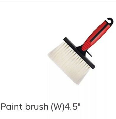 """Harris 120mm/4.5"""" WIDE WALL FENCE PAINT BRUSH Wall Ceiling Emulsion Stain"""