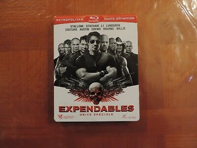 The Expendables -  Blu-Ray - Edition Steelbook