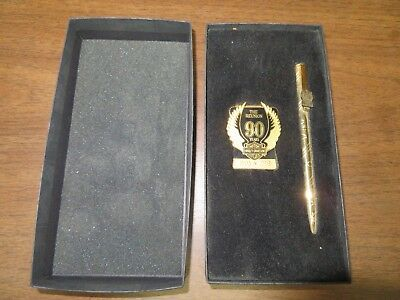 Harley Davidson 90th Anniversary Money Clip and Pen New in Box