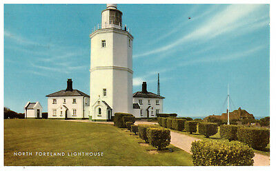 North Foreland Lighthouse, England Rare Vintage Postcard Postmark 20th Sept 1972