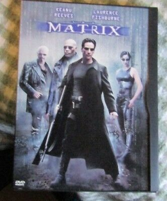 The Matrix (DVD, 1999) EXCELLENT PRE-OWNED CONDITION