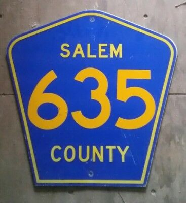 Vintage NJ County Route Sign