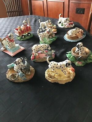 """Ten """"SEEING SPOTS"""" FIGURINES FROM THE HAMILTON COLLECTION VG Condition"""