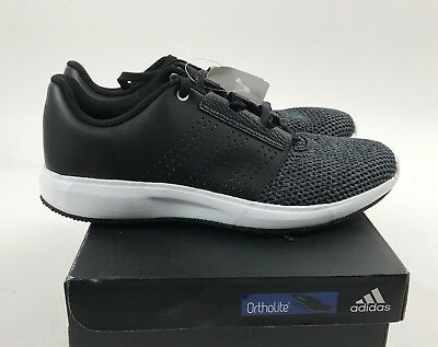 the best attitude 33211 46162 NEW Men s ADIDAS black MADORU 2 lace sneaker running shoes 8.5 ortholite  S81110