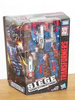 Transformers Generations War for Cybertron Siege Deluxe Class Cog MISB MIB new