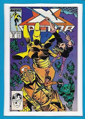 X-Factor #22_November 1987_Very Fine_Walter Simonsen_Marvel Comics!