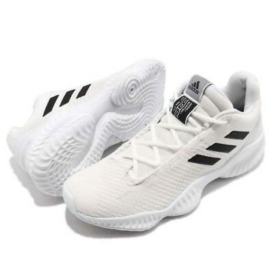 reputable site 675c6 fe724 Adidas Pro Bounce 2018 Low Basketball Shoe White