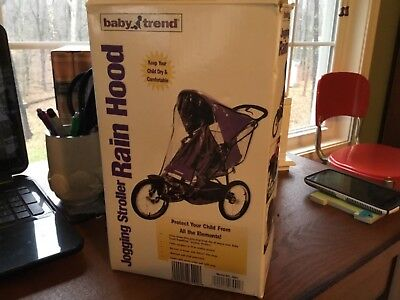 Baby Trend 3001 Jogging Stroller Rain Cover Hood Wind Moisture Protection