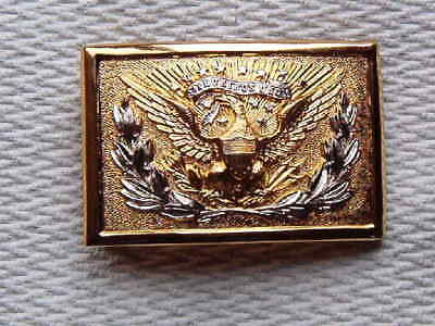 Vintage N.S.MEYER -  M1874 U.S. Officers Eagle Belt Buckle. E pluribus unum
