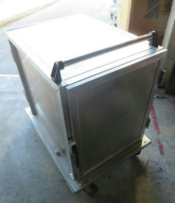 Generic Two Door Catering Food Service Food Tray Transport Cart 38.5x28.5x41