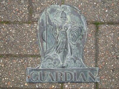 Genuine Guardian Assurance  Copper Fire Mark,  Issued C1850, Wright 57B