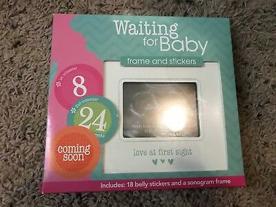 Pregnancy Belly Stickers With Frame