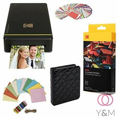 "Kodak Portable Mobile Instant Photo Printer 2 x 3"" Images for Android & iOS New"