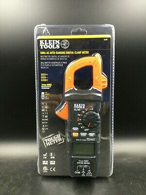 Klein Tools 600A AC Auto Ranging Digital Clamp Meter (CL700) *New*