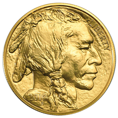 2019 $50 American Gold Buffalo 1 oz Brilliant Uncirculated