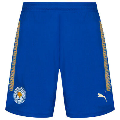 Leicester City FC Puma Men's Home Shorts Football Fan Tracksuit Bottoms