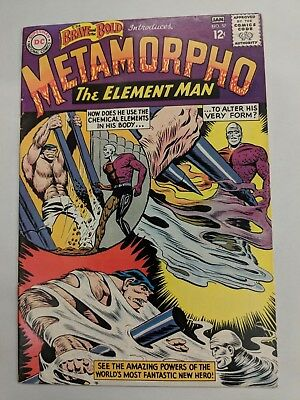 The Brave and the Bold #57 1964 [VG/FN] 5.0 1st Metamorpho Silver Age Classic DC