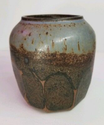 Antique Vintage Japanese Small Pot Signed briggs