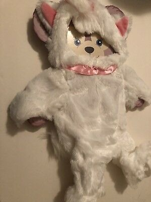 Disney Parks ShellieMay Bear Duffy marie Aristocats Kitten Outfit White Pink NWT