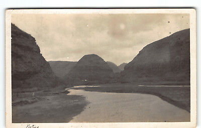 Oldy but Goody Waimea Bay- Oahu mailed Ft. Schafter Real Photo Postcard RPPC