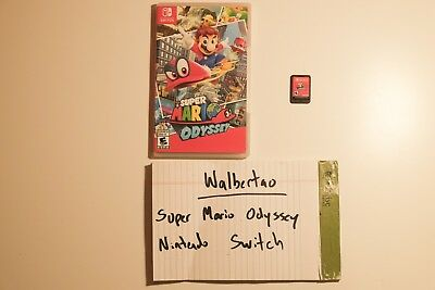 Super Mario Odyssey (Nintendo Switch, 2017) - Pre-owned