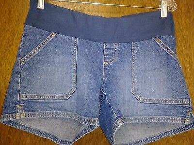 Old Navy Maternity Denim Shorts, Size Small, Stretch