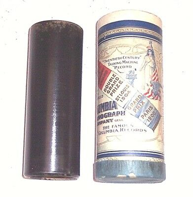 "Columbia Cylinder Phonograph 6"" Cylinder Record #85047, "" It Happen In Normandy"""