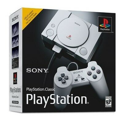 Sony PlayStation Classic Console 20 Pre-loaded Games 2 Controllers HDMI Port