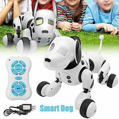 Robot Dog Toy Interactive Electronic Remote Control RC Smart Kids Toys Christmas