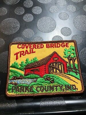 Bsa Covered Bridge Trail Parke County, Indiana Patch Bv