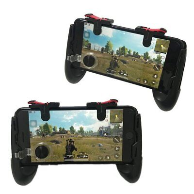 Mobile Game Joystick Handle Shooter Controller For PUBG Fortnite iOS Android CA
