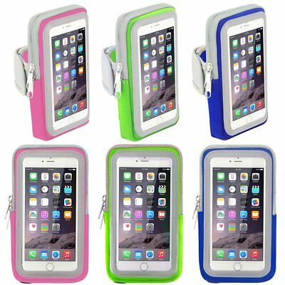 Sports Arm Band Mobile Phone Touch Screen Holder Case Bag For iPhone 8 Plus CA
