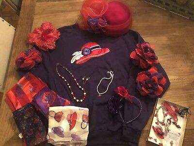red hat society lot 26 Pieces