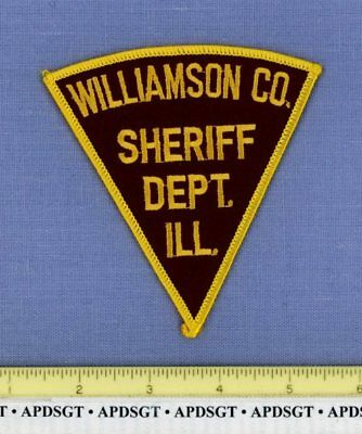 WILLIAMSON COUNTY SHERIFF DEPARTMENT ILLINOIS Police Patch