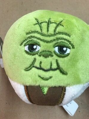 Hallmark FLUFFBALLS Plush Ornament Decoration Star Wars YODA