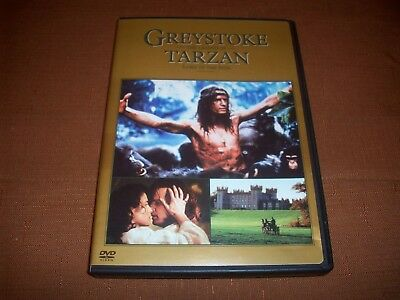 Greystoke The Legend of Tarzan Lord of the Apes DVD 2004