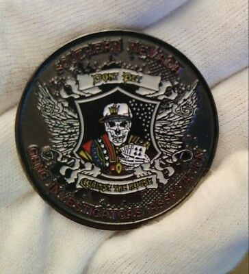 Las Vegas Police Southern Nevada Gang Investigators Association Challenge Coin