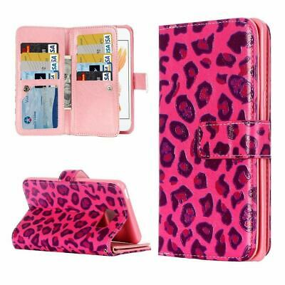 For iPhone 8,7 Wallet Case, Card Slots Durable Protective PU Leather Folio Cover