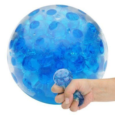 Squishy Bead Stress Ball Sensory Squeeze Toy Anxiety Relief Calming Gift CA